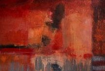 Art: Abstracted/Rust Never Sleeps / abstract painting / by Cameron Barry