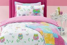 Owl Bedding / Owl bedding sets and bedroom accessories available from Kids Bedding Dreams online store. www.kidsbeddingdreams.com/owl-bedding