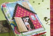 Art: Journaling with Fabric / Using fabric to express personal creativity