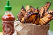 Hot for Sriracha Sauce / Our customers are nuts about Sriracha sauce and have been sharing some of their favorite Sriracha recipes.