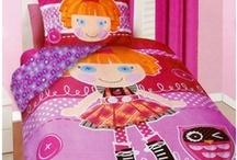 Girl's Bedding / Bedroom theme ideas for a girl's bedroom.