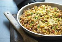 One Pot Meals (Recipes) / We know your busy during the week and don't have time for lengthy, detailed recipes. Here you'll find recipes requiring only one pot for all of the ingredients! Dinner will be ready in no time!