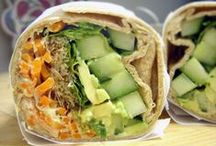 Sandwiches & Wraps / Sandwiches and wraps to satisfy your midday hunger and keep you full and energized for the day.