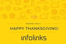 Holidays with Infolinks / Our holiday celebrations - design style