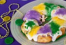 Mardi Gras / Inspiration, tips, and recipes to help you celebrate Mardi Gras this February!