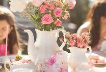 +GARDEN TEA PARTY / Cute ideas for a modern garden tea party