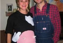 Halloween Pregnancy Costumes / Dress up your bump this Halloween with these awesome DIY costume ideas. These costumes are perfect for anyone pregnant and in the halloween spirit.