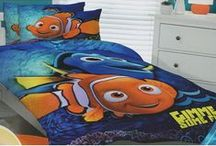 Finding Nemo Bedding / Finding Nemo bedding sets and bedroom accessories available from Kids Bedding Dreams online store. www.kidsbeddingdreams.com/finding-nemo-bedding