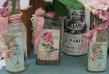 Crafts: Altered Bottles and Jars / by Karen