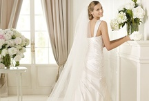 Pronovias Wedding Dresses / The Glamour Collection from the world's leading bridal house.