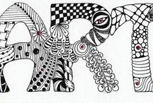 Art: Zentangles & Doodles  / by Karen