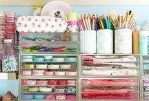 Craft Room layouts and Storage