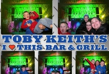 Cool Layouts/Green Screen Action! / The Chicago Photobooth Company can customize your photobooth experience by changing the layout of the photo.  This works well for corporate events and allows a more detailed logo or graphic on the photo.  Check it Out!