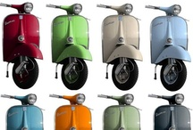 Vespa, Lambretta & some mods...... / Scooters are fun, interesting design and classic. When I was 18 I had a white 1971 Vespa125 Super worth more today then new. My best friend had a crazy Lambretta 175. At some point I also had a blue Vespa Ciao which hardly used any gas. Fun times. / by Kenneth Linge