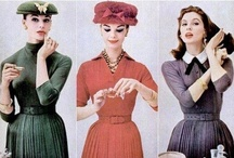 1950's | Lifestyle, Fashion, Design..... / The 1950s or The Fifties was a decade that began on January 1, 1950 and ended on December 31, 1959. By its end, the world had largely recovered from World War II and the Cold War developed from its modest beginning in the late 1940s to a hot competition between the United States and the Soviet Union by the beginning of the 1960s. The board is a great tool to check fashion, design, homes, fashion +++ if you are doing time accurate vintage shoots + many other uses. Enjoy, 50's is my favorite.