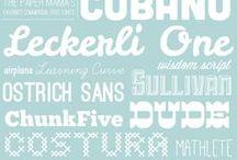 DIGITAL ... fonts  / by Cristina Perramon