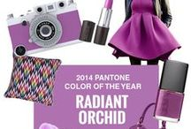 PANTONE  Color of the Year 2014 Radiant Orchid ☮k☮ / An enigmatic purple was selected for this year.  Radiant Orchid Pantone: 18-3224.  Hex#: af71af RGB: 175.113.175 CMYK: 32.65.0.0