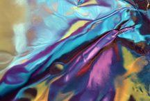Spectrum / Rich colours and textures.