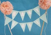 PARTY Cake & Cupcake Toppers / by Cristina Perramon