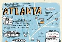peace up, a-town down / atl bucket list / by Chloë Albanese