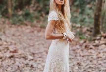 Boho Wedding / Boho wedding dresses, bohemian wedding dresses, woodland wedding