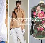 modetrends 2017 / Modetrends voor voorjaar en zomer van 2017, voorbeelden van de zes verschillende stijlen zoals beschreven op ontdekjekleurenstijl.nl