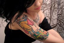 Cool Tattoos (I'll Probably Never Get) / by Kirsten Lee