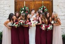 bridesmaids style + ideas / by Kara Horner