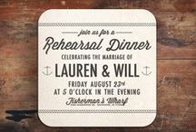 rehearsal + dinner / by Kara Horner