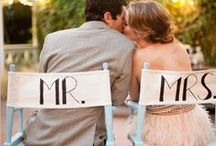 mr. + mrs. gifts / newlywed gifts + inspiration for wedding gifts exchanged between the bride & groom / by Kara Horner