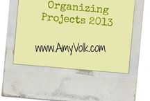 Half Hour Organizing Projects / 30 minute organizing projects for your home!