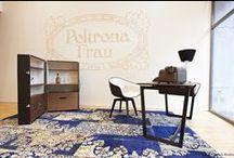 Sartori rugs in Poltrona Frau shops