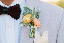 boutonnières for the boys / by Kara Horner