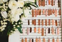 escort cards + seating charts / by Kara Horner