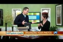 Organize Your Life TV Segments {The Hampton Roads Show} / Organize Your Life TV segments show you how to organize every aspect of your life from party planning to kitchen cabinets. www.amyvolk.com