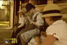 Haying in the 1930's  / Historical reenacting that i do for fun...  ~Dirty Thirties~