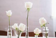 Flower & plants / Inspirerend bord over 'bloemen en planten' en de verbinding met de supermarkt