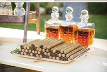 manly wedding ideas / Ways for the groom to make his mark on the wedding day / by Kara Horner