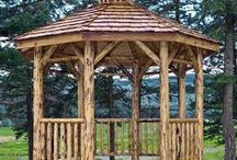 Gazebos / We're thinking of adding a gazebo to our mountain retreat / by Delores McNair