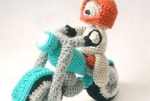 Horgolt motorok