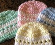 Handmade beanie / Crocheted and knitted caps, hats, beanies for the family