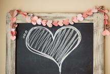 Chalk board ideas / by Cyndi Shirshac