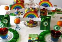 St Patrick's Day / Clovers, Green Beer, leprechauns, rainbows, pot of gold, etc / by Momma McCall