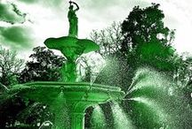 Savannah St. Patrick's Day / More than 400,000 people attend the St. Patrick's Day Celebration in Savannah! Thanks for joining us for a little bit o' fun here on Pinterest as we celebrate all things green!  / by Visit Savannah