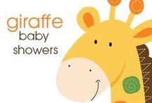 Giraffe Baby Showers / Giraffe Baby Showers, Boy Giraffe Baby Showers, Girl Giraffe Baby Showers, Jungle Giraffe, Pink Giraffe, Blue Giraffe