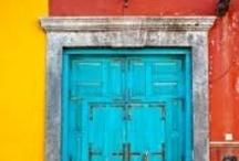 Doors & Windows / Doors and Windows that inspire new paintings. / by artist...Jackie JACOBSON