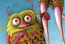 Monsters & Strange Creatures / by Julia Marriott