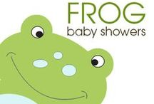 Frog Baby Showers / Frog Baby Showers / Art by Jess