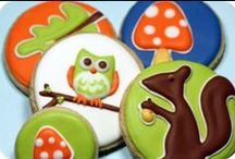 WOODLAND PARTIES / Featuring cute items for a woodland birthday or baby shower.