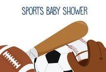 Sports Theme Baby Showers / Sports Theme Baby Showers